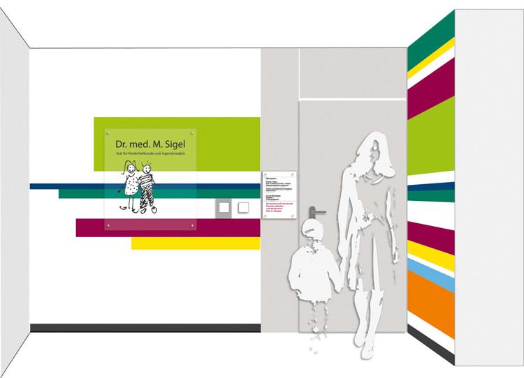 Dr Sigel Sindelfingen das logo für die kinderarztpraxis dr sigel hubraum4